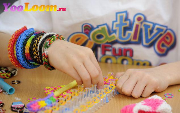 Сайт для плетения браслетов из резинок rainbow loom